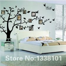 Large Black 3D DIY Photo Tree PVC Family Wall Decals Stickers Mural Art Home Dec