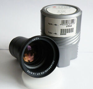 Projektionsobjektiv Leica COLORPLAN P2 CF 2,5/90mm TOP Zustand!!! OVP