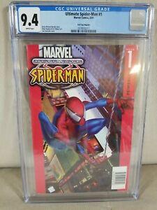 "Ultimate Spider-Man #1 (Oct 2000, Marvel) CGC 9.4 - 1st ""Ultimate"" KB Toys Editi"