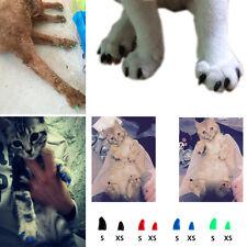 Silicona funda protector garra uñas tapa perro Arañazo gato pata mascotas