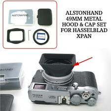 ALSTONHAND 49mm Metal Hood & Cap Set for Hasselblad XPAN I II 45mm 90mm Lens