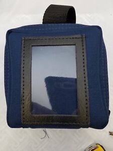 """SOFT CARRY CASE FOR METERS OR ELECTRONICS 5""""-5""""-2.75"""" MADE IN USA !"""