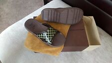 LOUIS VUITTON MENS FLIP FLOPS size 7 UK 41 EU