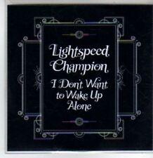 (BT363) Lightspeed Champion,  I Don't Want To Wake Up Alone - DJ CD