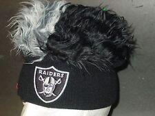 NFL Oakland Raiders Flair Hair Beanie,  NEW