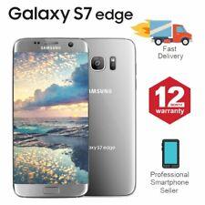 SAMSUNG GALAXY S7 Edge 32GB sbloccato 4G SIM telefono Mobile Android argento
