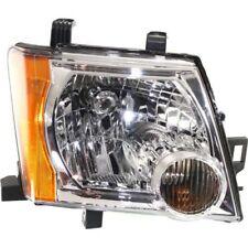 For Xterra 05-15, CAPA Passenger Side Headlight, Clear Lens