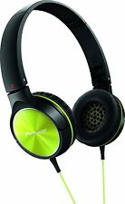 Pioneer SE-MJ522-Y Fully Enclosed Dynamic Headphones Black/Yellow On Ear Headset