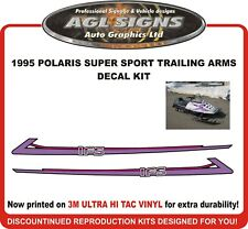 1995 POLARIS Super Sport Reproduction Trailing Arms Decal Kit
