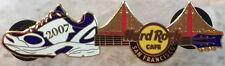 Hard Rock Cafe SAN FRANCISCO 2007 MARATHON PIN Running Shoe Guitar - HRC #38719