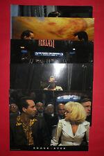 Snake Eyes 1998 Nicolas Cage Gary Sinise De Palma Rare Original Lobby Cards