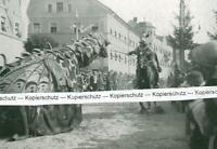 Furth im Wald : Ritter und Drache im Spiel -  um 1930           W 3-16