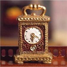 12th Scale Gold Carriage Clock for Dolls House