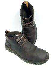 Dr Doc Martens Sussex Industrial Chukka Boots Mens Brown Pebbled Leather Size 10