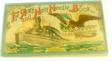 The Army & Navy Needle Book Diamond Drilled Eyed Sharps Needle Case