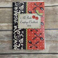 McBride Employee Cookbook 2013 Oklahoma City OK Spiral Bound Recipes Cook Book