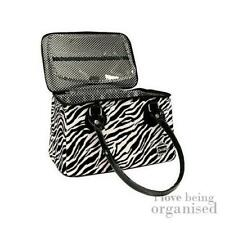 Caboodles Zebra Bag Travel Handbag Purse Organiser Women Makeup Large