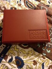 Vintage Parker Brothers Pocket Boggle Travel Game Used 1980