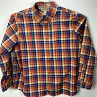 Duluth Trading Co. Mens 2XL Button Down  MultiColored Plaid  Shirt NWOT's (I52)