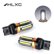2X 7440 24SMD LED Back Up Reverse Light Bulbs 6500K Super White Fog Light NEW