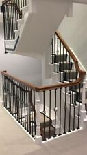 Wrought Iron Cage Metal Stair Spindle Baluster 950cm long x 12mm  Plain Bars