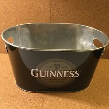Guinness Metal Ice Bucket -Great Shape, but empty.darn