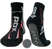 RDX MMA Grip Training Fight Gym Socks Boxing Foot Braces Ankle Shoes Guard CA