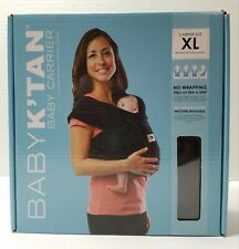 Baby Ktan K'tan Original Baby Wrap Carrier, Infant Sling,Black, Xl, Extra large