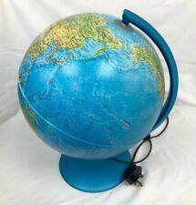 Vintage Nova Rico Educational Corded Light Up Children's World Globe #546