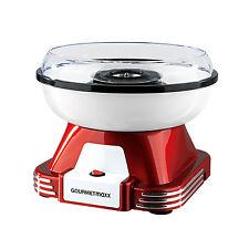GOURMETmaxx Zuckerwatte Maschine Gerät Maker 500W Cotton Candy Rot/Weiß