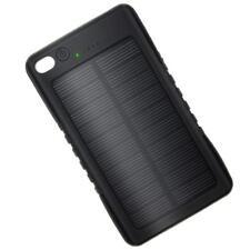 Portable  Solar Charger Power Bank 8000mah High Capacity 2 USB Output Ports