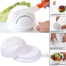 Salad Cutter Slicers Bowl Maker Made Healthy Fresh Salads Easy 60 Second Bowls