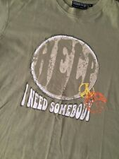 TUNES TO GO T SHIRT BEATLES - HELP - I NEED SOMEBODY - LARGE
