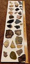 Fossils Minerals Quartz & Rocks Mix CollectionLot