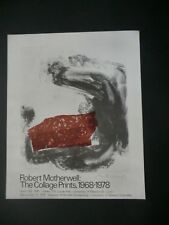 Robert Motherwell - The Collage Prints 1968-1978