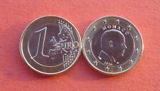 Monaco 2016 Albert II 1 Euro Bi-metallic Coin UNC