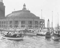 8x10 Navy Pier Chicago 1916 Print