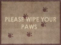 Turtle Mat - Wipe Your Paws Brown - Multi-Grip - 60x85cm