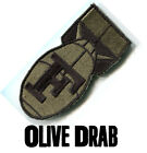 F Bomb Embroidered Morale Patch Multicam Scorpion OCP Desert Woodland Colors