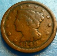 1848 Large Cent   #48 LC