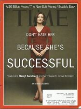 MARCH 18, 2013 TIME MAGAZINE FACEBOOK SHERYL SANDBERG FEMINISM WOMEN ACTIVIST