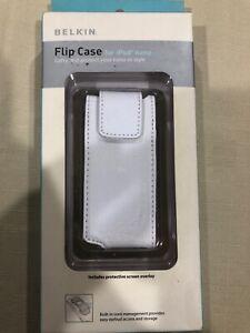 Belkin Flip Case For Ipod Nano F8Z059- White