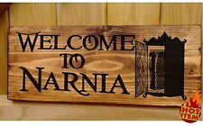 Personalised Lion Witch and the Wardrobe - Chronicles Narnia Plate Plaque Signs