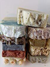 Bundle Lot Natural Handmade Soaps/Shampoo Bar U pick 10 Homemade Vegan Bulk  CP