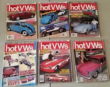 VINTAGE DUNE BUGGIES AND HOT VWs MAGAZINES MIXED LOT OF 6 1987-1988