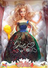 Galà Girls  - Bambola tipo Barbie Vestito Floreale - Apel Plastick - Nuova