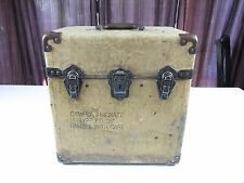 "World War II WWII U.S. Navy Aircraft Camera Type F-8 15"" Box Case ONLY Rare"