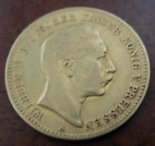 Germany Prussia 1893 A Gold 10 Mark XF