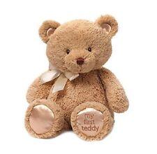 Gund My First Teddy Bear Baby Stuffed Animal, Tan, 15 inches