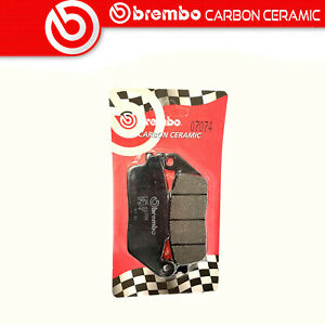 Brake Pads Brembo Carbon Ceramic Rear for Honda Nsa 700 A 2009>